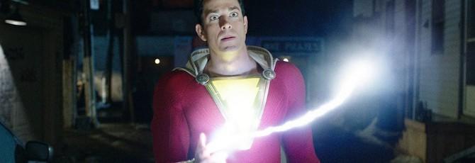 """Режиссер """"Шазама!"""" получил классический костюм в стиле супергероя"""