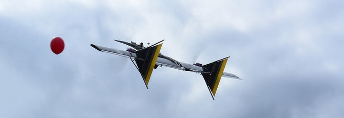 Российский летающий дрон оснастили дробовиком для охоты на других дронов