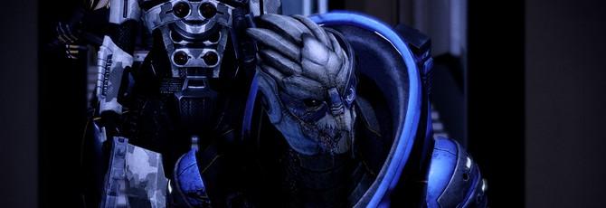 Фанаты Mass Effect могут купить полноразмерного Гарруса-подушку к себе в кровать