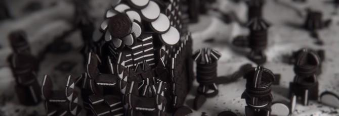 """Oreo и HBO сделали вступительный ролик """"Игры престолов"""" из печенья"""