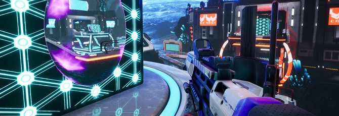 Splitgate: Arena Warfare — шутер с механиками Halo и Portal