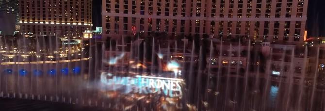"""В Лас-Вегасе сделали постановку """"Игры престолов"""" с помощью фонтанов"""