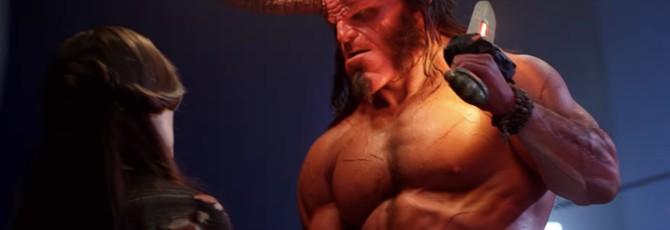 """Ужасающий грим и огромные рога: практические эффекты в ремейке """"Хеллбоя"""""""