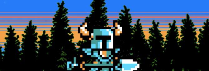 Вот так выглядит бездумный спавн персонажей в Shovel Knight