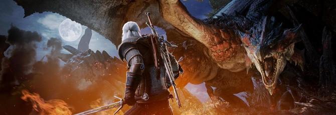 Геральт прибудет в PC-версию Monster Hunter: World в мае