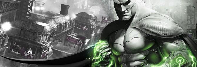 Представлена стильная черно-белая фигурка Бэтмена