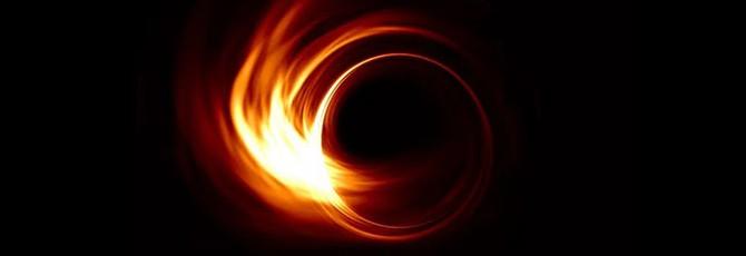 Прямой эфир с презентации черной дыры