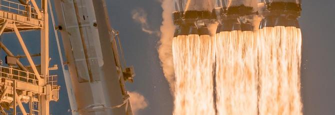 Прямой эфир с первого коммерческого запуска Falcon Heavy — попытка номер два