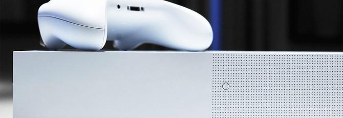 Утечка: Изображение цифровой версии Xbox One S, релиз в мае