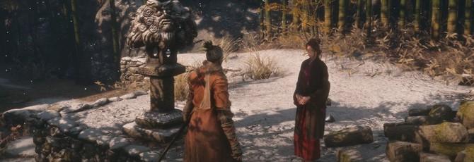 В предрелизной версии Sekiro: Shadows Die Twice драконье поветрие нужно было лечить по-другому
