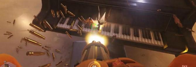 """Главную тему из """"Игры Престолов"""" исполнили на пианино в Overwatch"""