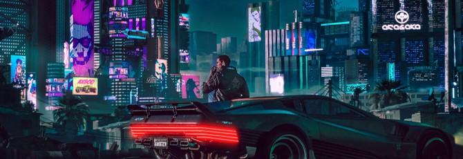 Фанат создал живые обои по мотивам Cyberpunk 2077