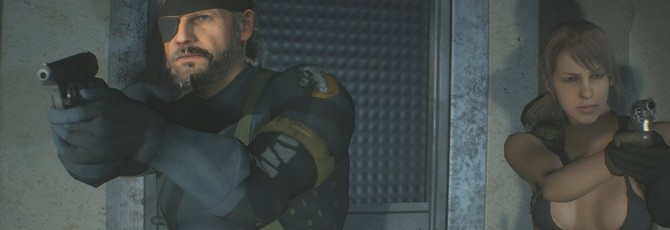 Моддер добавил в Resident Evil 2 Молчунью и Биг Босса из MGS 5