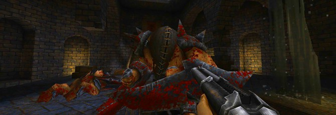 Геймплей олдскульного шутера WRATH: Aeon of Ruin