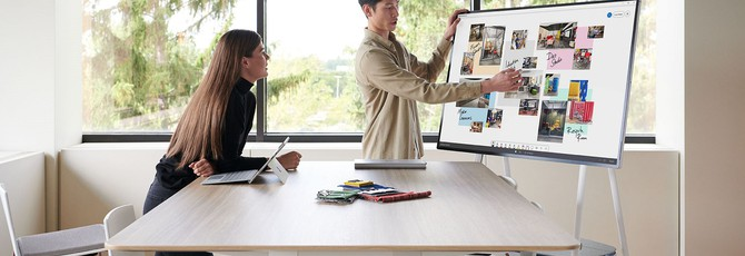 Microsoft показала Surface Hub 2S — 50-дюймовый планшет за $9000