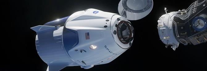 Авария во время испытания капсулы Crew Dragon от SpaceX