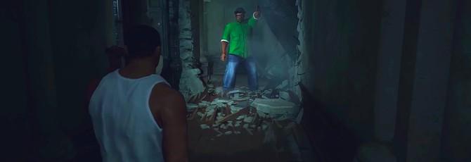 СиДжей и Биг Смоук перебрались из GTA: San Andreas в Resident Evil 2