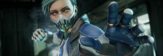 Фрост в новом трейлере Mortal Kombat 11