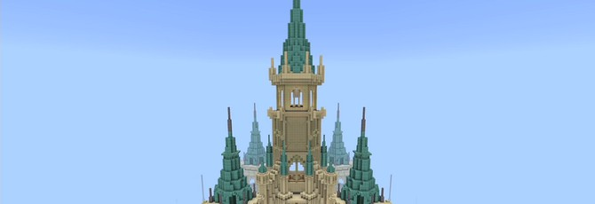 Команда игроков Nintendo создала в Minecraft замок из Breath of the Wild