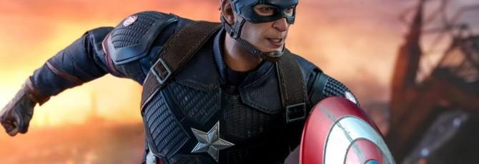 """Hot Toys показала фигурку Стива Роджерса из """"Мстителей: Финал"""""""