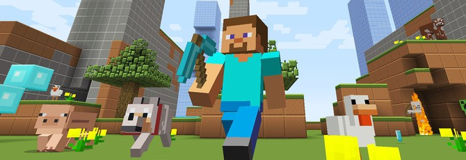 Игрок провел 24 часа в Minecraft VR