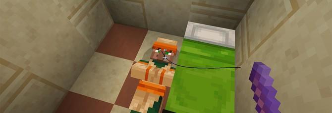 Деревенские жители Minecraft вламываются в дома игроков и похищают урожай