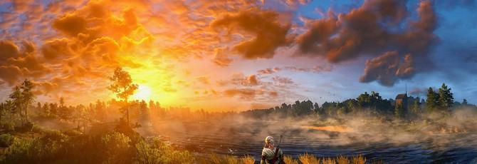 Быстрая пешая прогулка через всю карту The Witcher 3: Wild Hunt
