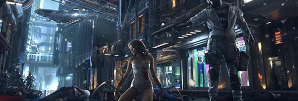 Первый трейлер Cyberpunk 2077