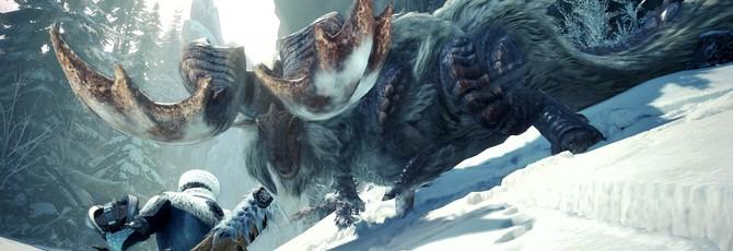 Зимняя акула в свежем геймплее Monster Hunter World Iceborne