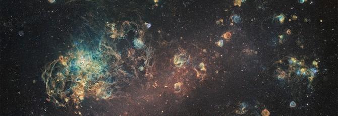 Взгляните на Большое Магелланово Облако в разрешении 240 МП