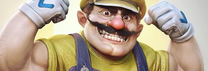 Реалистичные персонажи Nintendo — новые работы арт-директор God of War