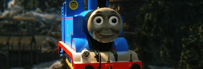 Первое добавление паровозика Томаса в Skyrim создало моддеру проблем