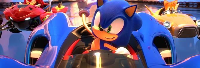 Релизный трейлер и оценки гоночной аркады Team Sonic Racing