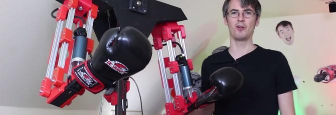 Этот робот будет бить вас, пока вы спаррингуетесь в VR