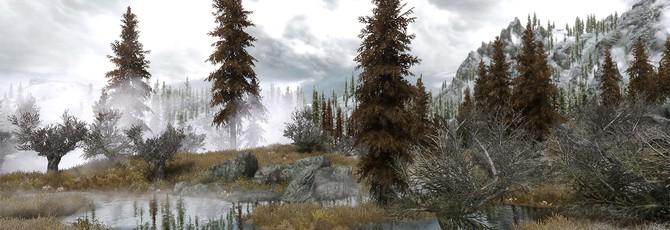 Таймлапс пешей прогулки по The Elder Scrolls V: Skyrim