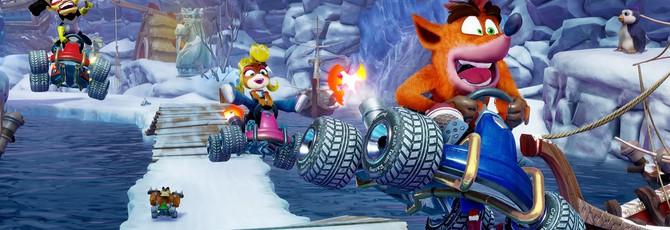 Завязка сюжета в новом синематике Crash Team Racing Nitro-Fueled