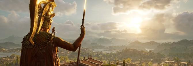 Геймплей Assassin's Creed Odyssey с трассировкой лучей