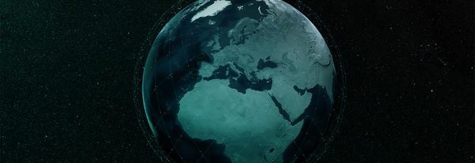 """Астрономы снимают """"спутниковый поезд"""" SpaceX на орбите"""