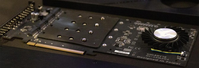 Gigabyte представила SSD для PCIe 4.0 на 8 ТБ и со скоростью чтения 15 ГБ/с