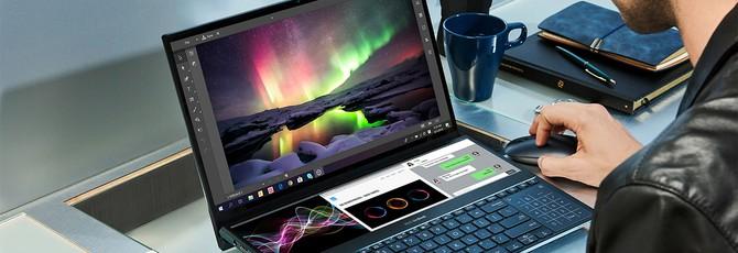 Asus ZenBook Pro Duo — ноутбук с двумя дисплеями, который хочется попробовать лично