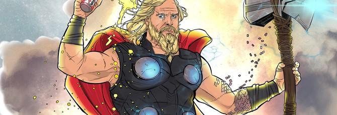 "Крис Хемсворт рассказал, как на съемках ""Мстители: Финал"" коллеги гладили живот толстого Тора"