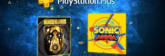 В июне будет щедрый PS Plus: Sonic Mania и Borderlands: The Handsome Collection