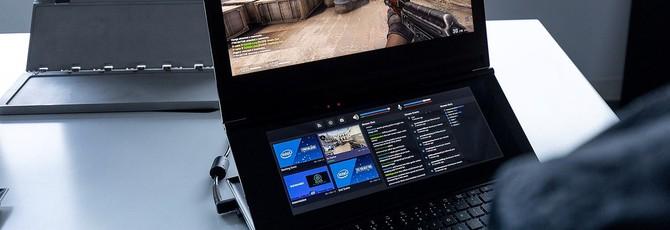 Intel показала прототип ноутбука с двумя экранами