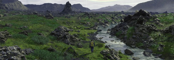 Кодзима рассказал, что игроки смогут забраться на горы из трейлера Death Stranding