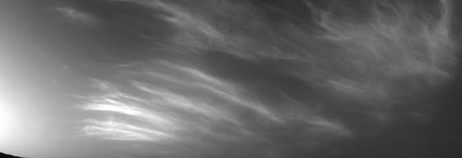 Вот как выглядят марсианские облака с поверхности планеты