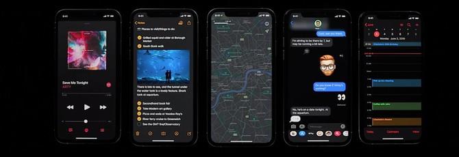 Ночная тема в iOS 13, iPadOS и менструальные циклы в Apple Watch