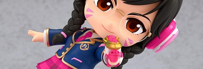 D.Va в школьной форме — милая нендороид-фигурка из линейки Overwatch