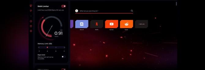 Opera представила браузер для геймеров