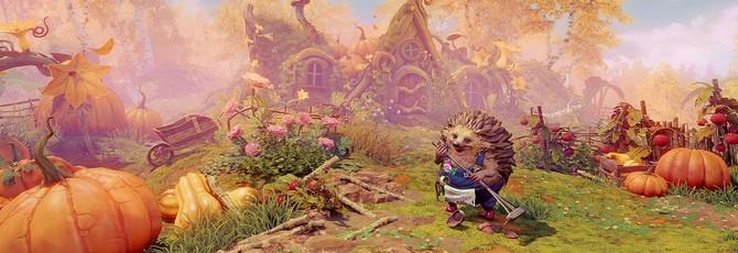Яркий мир, интересные головоломки и милый ежик в геймплее Trine 4 с E3 2019