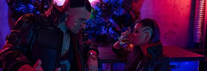Оформление бара Cyberpunk 2077 c E3 2019